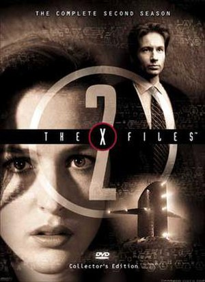 The X-Files (season 2) - DVD cover