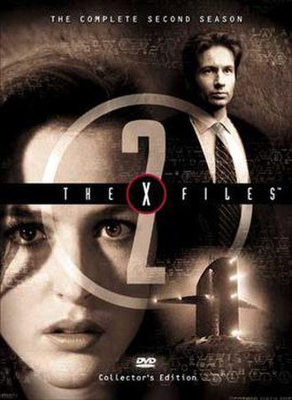 The X-Files (season 2) - DVD cover