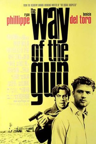 The Way of the Gun - Theatrical release poster