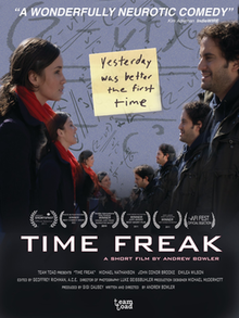 Time Freak short film poster.png