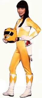 Trini Kwan The Yellow Power Ranger character