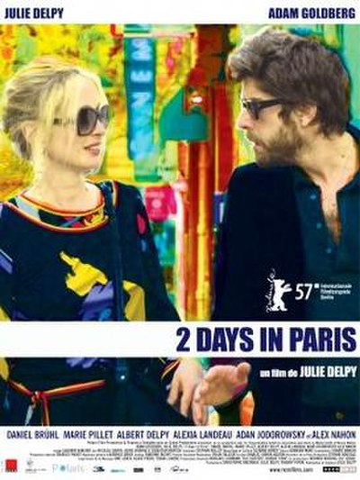 Picture of a movie: 2 Days In Paris