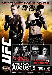 A poster or logo for UFC 87: Seek and Destroy.