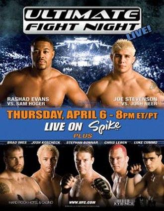 UFC Ultimate Fight Night 4 - Image: Ultimate fight night 4