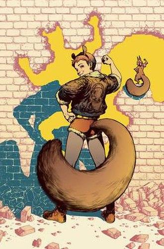 Squirrel Girl - Image: Unbeatable Squirrel Girl