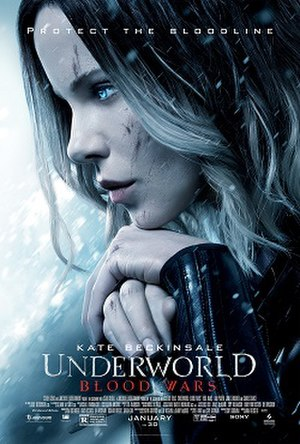 Underworld: Blood Wars - Theatrical release poster