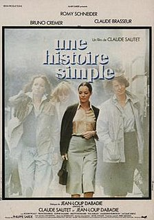 1978 French drama film, a drama directed by Claude Sautet