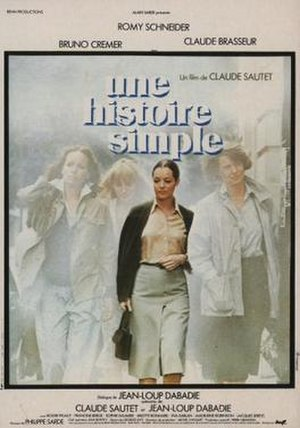 A Simple Story (1978 film) - Film poster