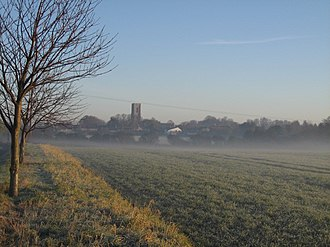 Southrepps - Image: Village From Remembrance Avenue