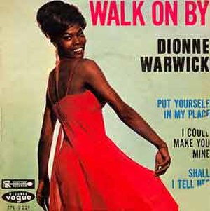 Walk On By (song) - Image: Walk On By Dionne Warwick