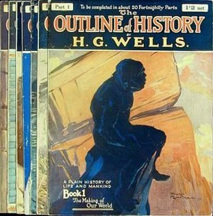 The Outline of History - Cover of the 1920 edition