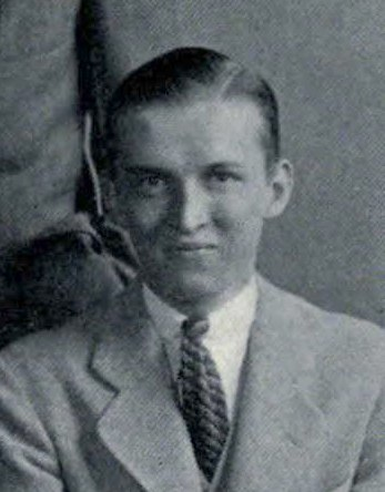 William Lee Parker - Princeton Press Club Yearbook Photo 1933