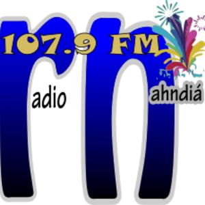 XHTFM-FM - Image: XHTFM Radio Nahndia 107.9 logo