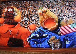 Zig and Zag (puppets) - Zig and Zag on Tubridy Tonight, 8 November 2008