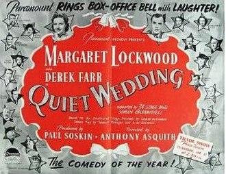 "Quiet Wedding - Image: ""Quiet Wedding"" (1941)"