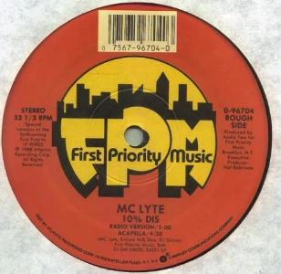 10% Dis 1988 single by MC Lyte