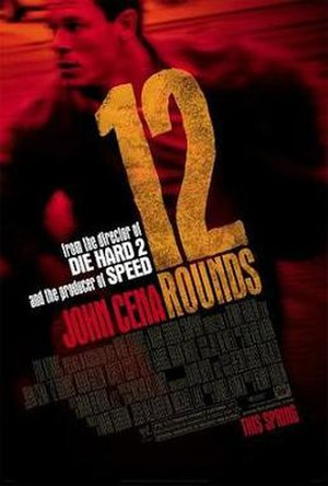 12 Rounds (film) - Theatrical release poster