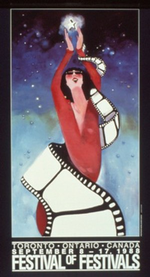 1988 Toronto International Film Festival - Festival poster