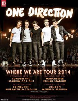 Where We Are Tour One Direction Wikipedia