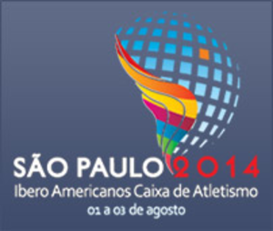 2014 Ibero-American Championships in Athletics - Image: 2014 Ibero American Championships logo