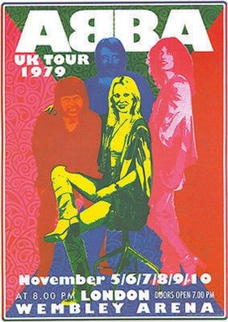ABBA: The Tour - Image: ABBA 1979Tour Poster