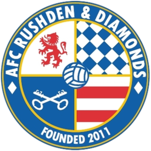 AFC Rushden & Diamonds - Image: AFC Rushden and Diamonds logo