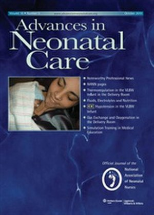 Advances in Neonatal Care - Image: ANC Cover