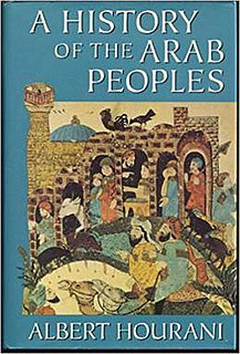 <i>A History of the Arab Peoples</i> book by Albert Hourani