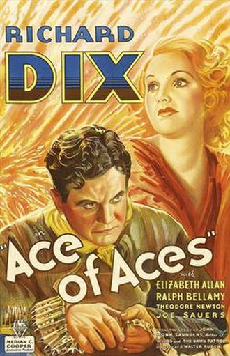 Ace of Aces (1933 film) - Original theatrical poster