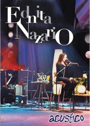 Acústico (Ednita Nazario album) - Image: Acusticoednitadvd