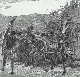 Kingdom of Kongo - Congo-Bowmen, the bulk of Kongo's infantry forces, consisted of archers equipped and attired similar to these found by the David Livingstone expedition.