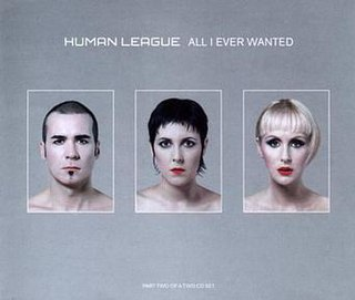 All I Ever Wanted (The Human League song) 2001 single by the Human League