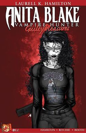 Anita Blake: Vampire Hunter - Issue 1 cover.