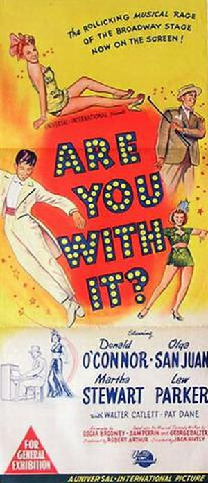 Are You with It? - Image: Are You With It? Film Poster