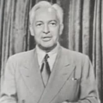 Art Baker (actor) - Art Baker hosting 'You Asked For It' in 1951