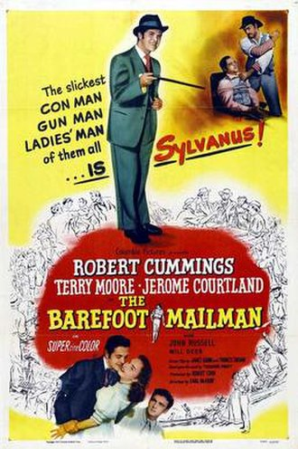 The Barefoot Mailman - Film poster