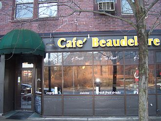 Ames, Iowa - Café Beaudelaire in Campustown
