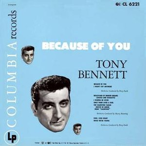 Because of You (Tony Bennett album) - Image: Because of You