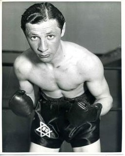 Benny Goldberg Polish boxer