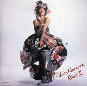 Best II (Akina Nakamori album) - Image: Best II (Akina Nakamori album)