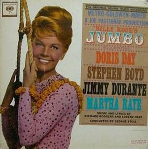 Billy Rose's Jumbo (soundtrack) - Image: Billy Rose's Jumbo (album) cover