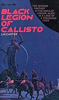 <i>Black Legion of Callisto</i> novel by Lin Carter