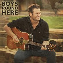 Blake Shelton featuring Pistol Annies and friends — Boys 'Round Here (studio acapella)