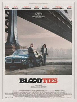 Blood Ties (2013 film) - Image: Blood Ties poster