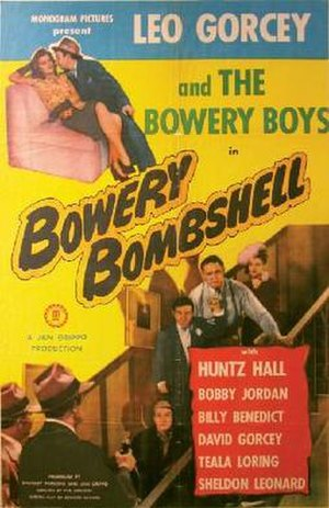 Bowery Bombshell - Theatrical poster to Bowery Bombshell