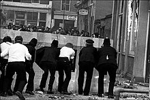 A Scene From The April 1981 Brixton Riot Which Is One Of Most Violent And Destructive Riots In British History Jamaicans