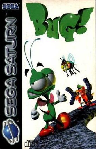 Bug! - European Sega Saturn version cover art