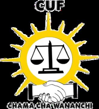 Civic United Front - Image: CUF partylogo