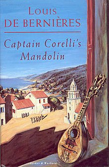captain corelli s mandolin by louis de It is 1941 and captain antonio corelli, a young italian officer, is posted to the  greek island of cephallonia as part of the occupying forces.