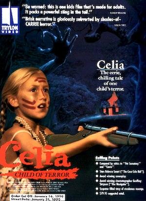 Celia (film) - video cover